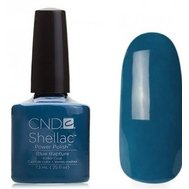 09953 Blue Rapture Гель-лак Creative Shellac Темно-голубой коллекция Forbidden